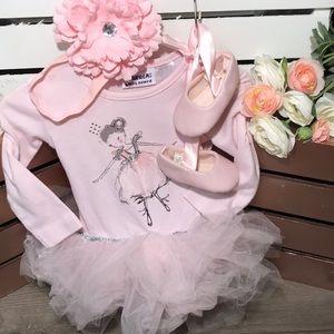 🆕 Blueberi Boulevard Ballerina Dress size 12m